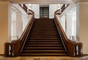 Treppe im StMELF